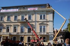 Шмуклер сильнее суда и кувалды мэра Одессы: незаконная мансарда на памятнике архитектуры остается