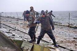 ВМС Украины снова проводят учения на берегах Днестровского лимана (ФОТО)