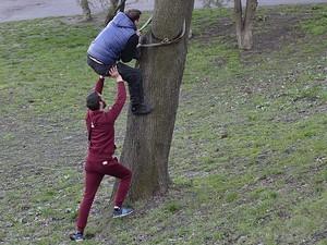 Одесские фотографы-живодеры гоняются за орлами (ФОТО)