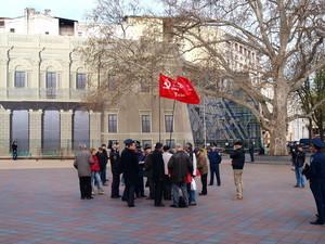 Политические проекты одесских коммунистов и сторонников сепаратиста Маркова не прошли