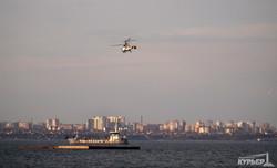 ВМС Украины тренируются около берегов Одессы (ФОТО)