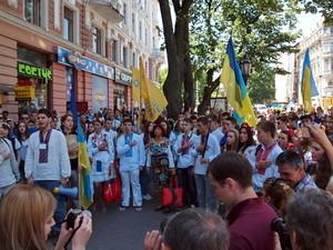 Каким будет одесский марш вышиванок, который пройдет 23 мая