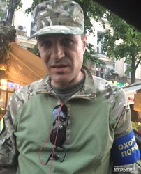 Стопхам по одесски: джипер против общественников на Дерибасовской (ВИДЕО)