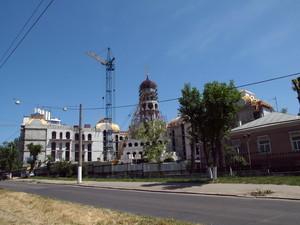 Стройка одесской церковно-приходской школы для Московского патриархата остановилась (ФОТО)