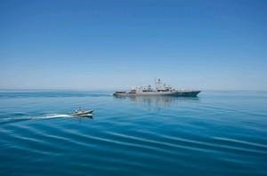 Флагман ВМС Украины проводит учения с американским эсминцем неподалеку от Одессы (ФОТО, ВИДЕО)