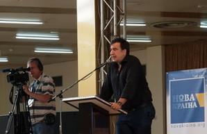 "Саакашвили: ""Нам надо менять систему"""