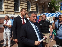 Арсен Аваков в Одессе рассказал, какие зарплаты будут у полицейских (ФОТО)