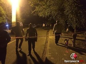 Подробности убийства милиционера в Аркадии (ФОТО, ВИДЕО)