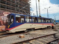 Трамвай в Аркадии все еще не готов, несмотря на обещания главного по одесским дорогам (ФОТО)