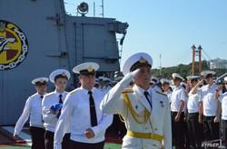 В Одессе отпраздновали двадцать вторую годовщину единственного фрегата