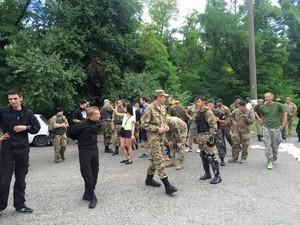 В Одессе пытались провести проплаченный митинг сепаратистов