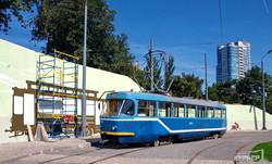 Трамвайчики настоящие и трамвайчики нарисованные: новый облик конечной в Аркадии (ФОТО)