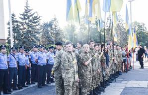 В Одессе на Куликовом поле проукраинские активисты подрались с пророссийскими