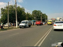 Одесский трамвай столкнулся с самосвалом: восемь человек пострадали (ФОТО)