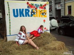 Вышиванковый фестиваль в Одессе: ярмарка на Приморском бульваре (ФОТО)