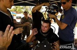 """""""Си-Бриз"""": украинские и американские водолазы погрузились на дно Одесского порта (ФОТО)"""