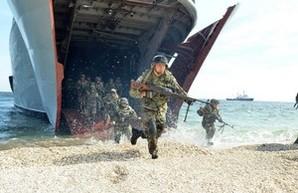 Си-Бриз: морской десант на полигоне Широкий Лан (ФОТО)