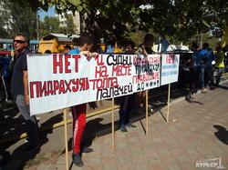 """""""Автомайдановцы"""" заблокировали движение по Балковской (ФОТО)"""