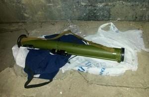 На пути кортежа Яценюка найден гранатомет