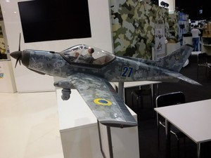 """Одесский авиазавод представил военную версию легкого самолета """"Дельфин"""""""