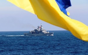 Флагман ВМС Украины участвует в международных учениях