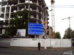 """Строители незаконной высотки показывают одесситам """"синий экран смерти"""" (ФОТО)"""