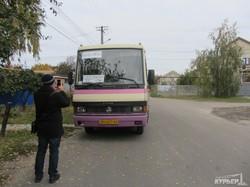 """На выборах в Одессе ликвидировали """"карусель"""" на автобусах (ФОТО)"""