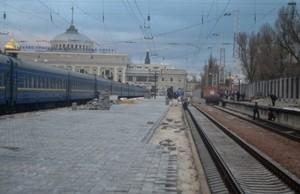 Одесский вокзал ремонтируют: скоро юбилей железной дороги