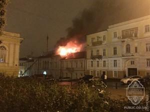 Советница экс-губернатора называет пожар в волонтерском центре поджогом
