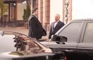 Саакашвили в Одессе общался с российским олигархом Мазепиным (ВИДЕО)