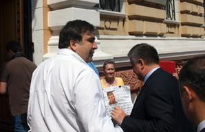 Как Саакашвили с Аваковым скандалили (ВИДЕО)