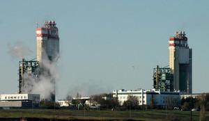 Припортовый завод сокращает производство аммиака