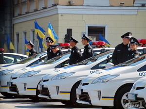 Одесситов на Новый год будут охранять две тысячи полицейских