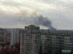 В Одессе снова горели Поля орошения (ФОТО)