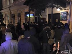 """Полиция задержала активистов """"Самообороны Одессы"""" (ФОТО)"""