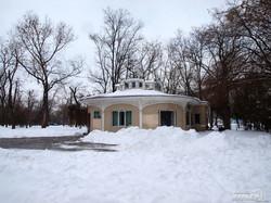 Снежная сказка одесского парка Шевченко (ФОТО)