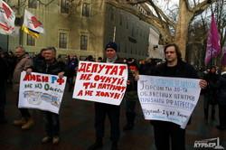 Одесситы требуют от городского совета признать Россию агрессором (ФОТО)