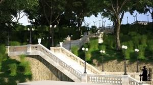 К весне в одесской Аркадии появится новая лестница