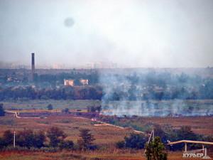 В Одессе горели Поля орошения
