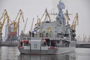 Флагман ВМС Украины вернулся в Одессу после похода в Турцию (ФОТО)