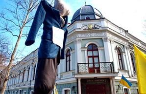 В Одессе повесили чучело прокурора (ФОТО)