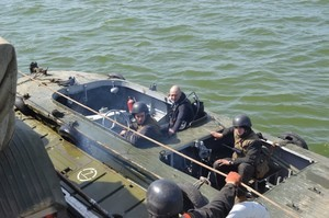 В Одесской области продолжаются военно-морские учения на Днестровском лимане (ФОТО)
