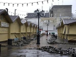 В Одессе к курортному сезону обновляют ярмарку на Дерибасовской