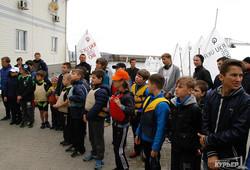 В Одессе начался сезон парусов и яхт (ФОТО)