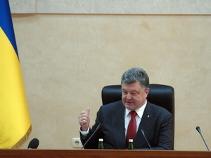 Пока Саакашвили говорил, за трассу Одесса-Рени взялся Порошенко