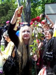 """Сепаратисты на Куликовом поле: """"Вон из Одессы, бандеровские бесы"""" (ФОТО, ВИДЕО)"""