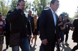 Бежавший с Куликова поля Скорик обвиняет в раскачивании ситуации в Одессе и Саакашвили, и Труханова