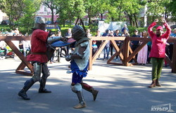 В Одессе воссоздают атмосферу Средневековья с рыцарским турниром (ФОТО)