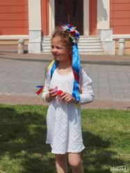 Юные граждане Одессы на марше вышиванок (ФОТО)