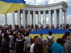 Партия из окружения Боровика попыталась приватизировать Одесский вышиванковый фестиваль (ВИДЕО)